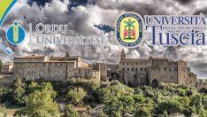 Ordu Üniversitesi Uluslararası Erasmus anlaşması imzalandı.