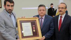 Ordu'da Şehit ailesine Devlet Övünç Madalyası verildi