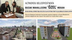 Altınordu Belediyesi'nden Bucak Mahallesine 'Özel' Mekân