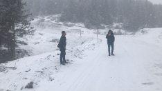 Ordu'da Yüksek Kesimlerde Kar Devam Ediyor