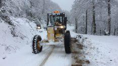Başkan Tekintaş, Kar Yağışının Ulaşımı Engellememesi İçin Çalışıyoruz