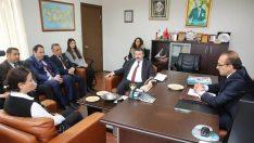 Vali Seddar Yavuz, KOSGEB Ordu Hizmet Merkezi Müdürlüğünü ziyaret etti.