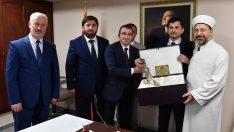 Ordulu Din Görevlileri Diyanet İşleri Başkanı Erbaş'ı Ziyaret Ettiler