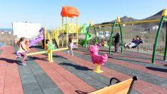 Altınordu'da Yeni Bir Park Daha Çocuklarla Buluştu.