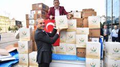 Altınordu Belediyesi Öncülüğünde Toplanan Fındıklar Mehmetçiğe Gönderildi
