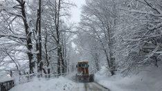 Ordu'da Yoğun Kar  Yağışı Uyarısı