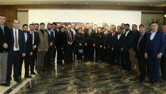 Başkan Yılmaz, MHP İl ve İlçe Teşkilatlarıyla Bir Araya Geldi