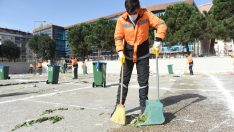 """Altınordu Belediyesi Temizlik İşçileri Bu Kez """"Kadro"""" İçin Süpürdü"""