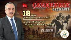 Başkan Tekintaş, Çanakkale Türk Milletinin Kahramanlık Destanıdır