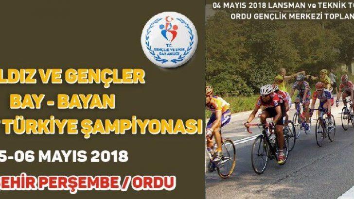 Türkiye Bisiklet Şampiyonası Sakin Şehirde