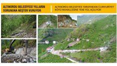 Altınordu Belediyesi Yılların Sorununa Neşter Vuruyor