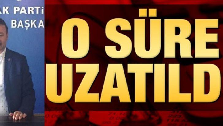 Öz, Milletvekilliği Aday Adaylığı Süreci 2 Mayıs'a Kadar Uzatıldı