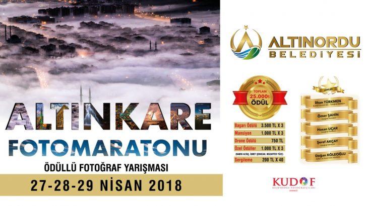 Altınordu'da Altınkare Fotomaratonu Start Alıyor