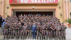 Afrin'den Dönen PÖH'ler Törenle Karşılandı