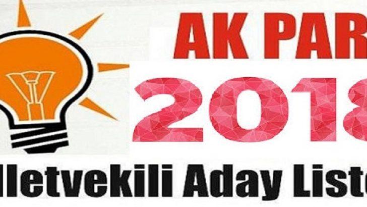 AK Parti'de Listeler Yarışıyor.