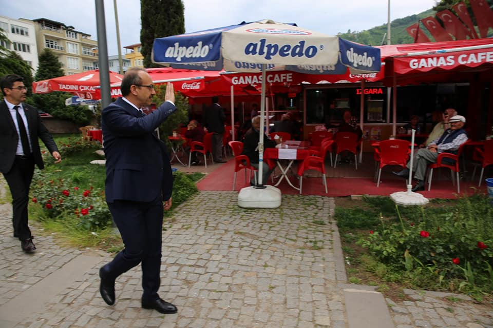 Vali Yavuz, Esnaf Ziyaretlerini Sürdürüyor