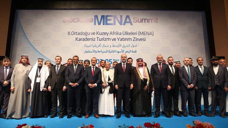 Ordu'da, MENA Zirvesi Açılış Programı Gerçekleştirildi
