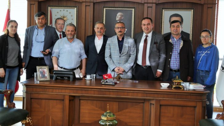 Ordu 19 Eylül Gazeteciler Derneğinden Başkan Şahin'e Ziyaret
