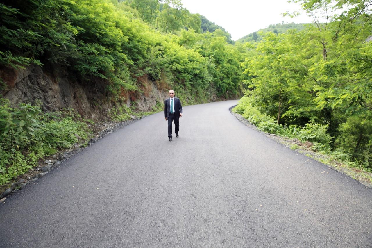 Başkan Tekintaş, Boztepe'yi Standardı Yüksek Çok Konforlu Bir Yola Kavuşturduk