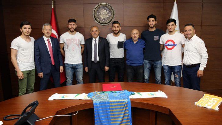 Altınordu Belediyespor'da Bal Hazırlığı Sürüyor