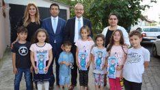 Vali Yavuz, Perşembe İlçesindeki Aileleri Mutlu Etti