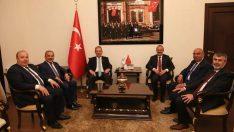 Sağlık Bakanı Demircan, Vali Yavuz'u Ziyaret Etti