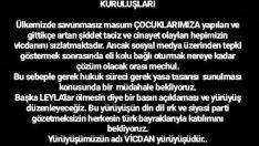 TARAFTAR GRUPLARINDAN TEPKİ
