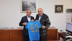 Başkan Engin Tekintaş Orduspor'un Efsane Başkanı Şükrü Bodur'u Ziyaret Etti!
