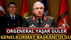 Genelkurmay Başkanlığına, Kara Kuvvetleri Komutanı Orgeneral Yaşar Güler atandı.