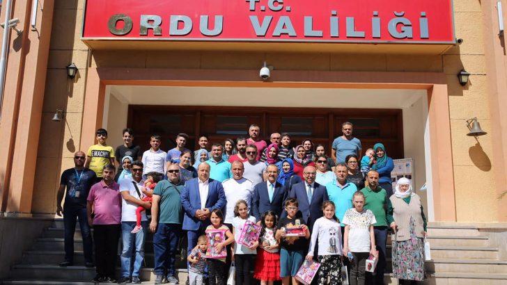 Vali Yavuz'un Konukları Gazilerdi..