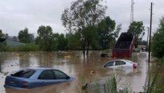 Ordu'da Aşırı Yağış Sele Dönüştü