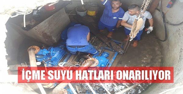 OSKİ SEL'İN YARALARINI SARIYOR!