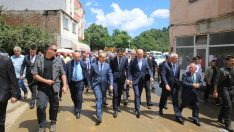 Çevre ve Şehircilik Bakanı Kurum, Ordu'ya Geldi