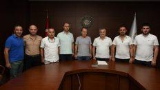 Altınordu Belediyespor Yönetimi Görev Dağılımı Yaptı