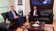 Başkan Engin Tekintaş, Cumhuriyet Savcısı  Mehmet Akif Aktaş'a Hayırlı Olsun Ziyaretinde Bulundu.