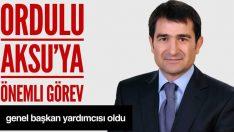 MHP İstanbul Milletvekili Ordulu İsmail Faruk Aksu'ya Önemli Görev