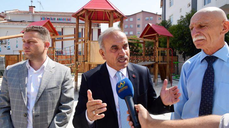Altınordu Belediyesi'nden Yeni Mahalleye Modern Ve Güvenli Park!