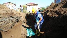 Turnasuyu Mahallesi Kanalizasyon Hatlarına Kavuşuyor