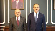 Vali Yavuz'dan Başkan Tezcan'a Ziyaret