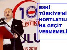 Çelenk, Eski Türkiye'nin Hortlatılmasına Geçit Vermemelidir!