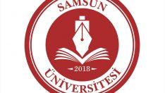 """Samsun Üniversitesine """"Bandırma Vapurlu"""" logo"""