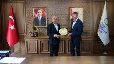 Başkan Tekintaş Recklinghausen Belediye Başkanını Ağırladı