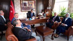 Başkan Tekintaş, Çamaş'ı ziyaret etti