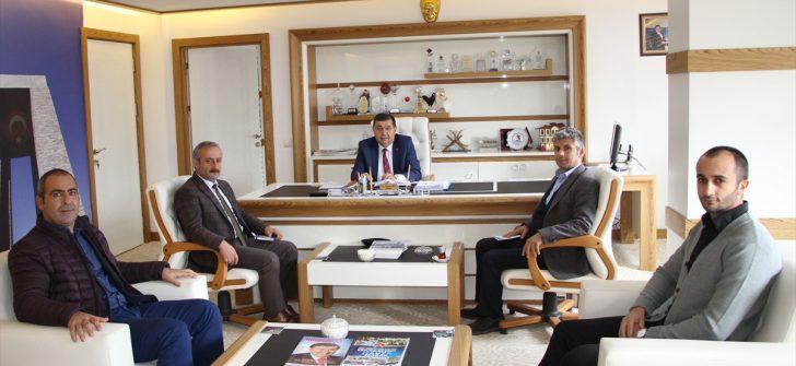 Havza Belediye Başkanı İkiz'e ziyaret