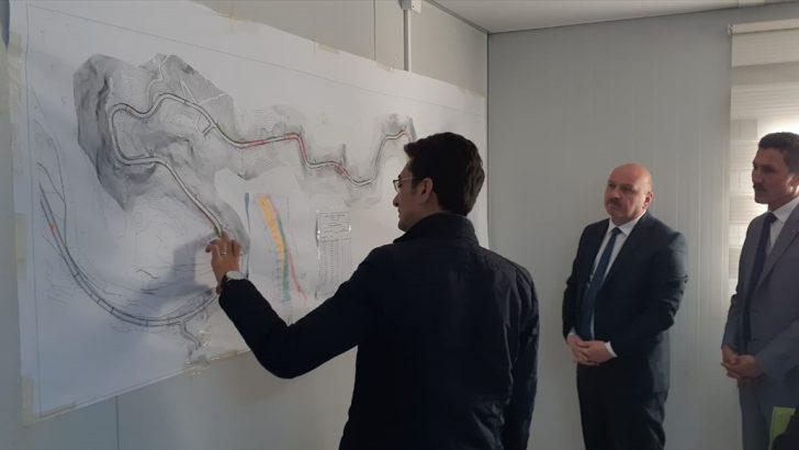 Milletvekili Gündoğdu'dan Ordu-Kabadüz yolunda inceleme