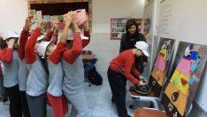 Öğrenciler dersleri oyunla öğreniyor