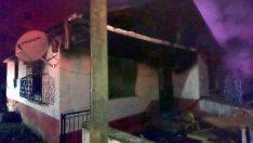 Ordu'da imam ve eşi yangında yaralandı