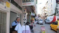 """Samsun'da terziden """"askıda elbise"""" uygulaması"""