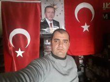 Samsun'dan Afrin'e Türk bayrağı ve Erdoğan posteri
