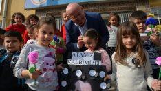 Terme Belediyesinden eğitime destek
